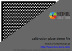 Calibration Plate for HALCON (PDF) (Demo)