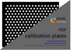 Calibration Plate for HALCON (PDF)