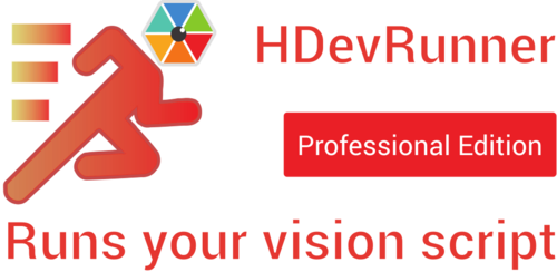 HDevRunner Professional - Runs your vision script